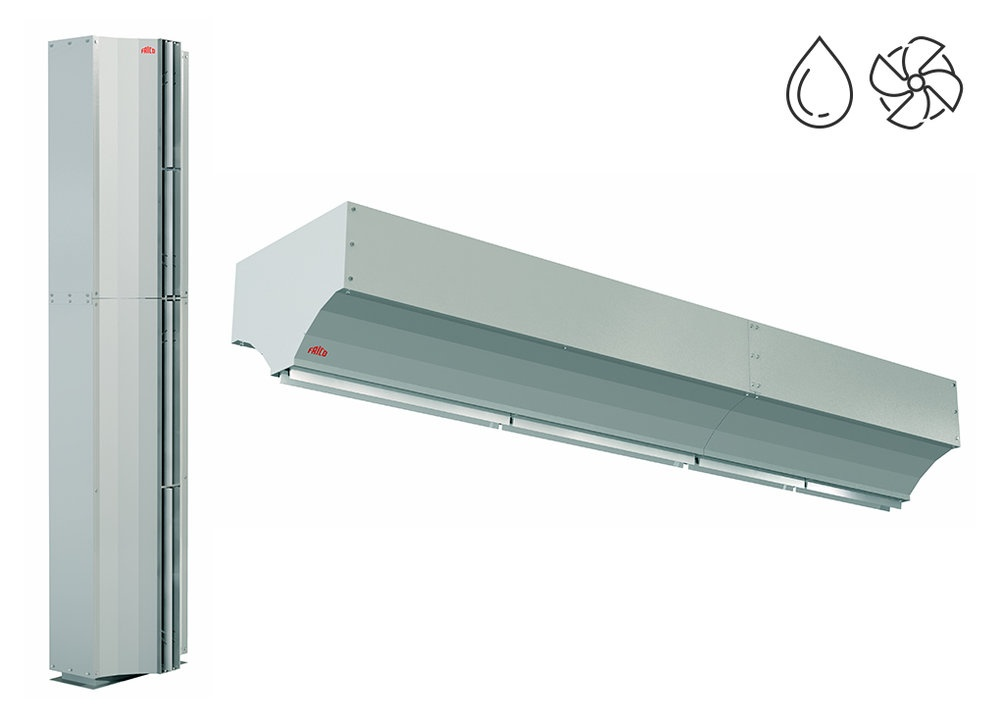 AGI6000 - Industry - Air curtains - Products - Frico