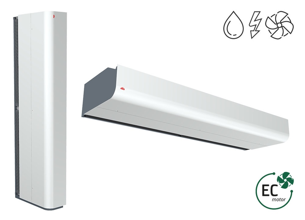 PA4200 - Industry - Air curtains - Products - Frico