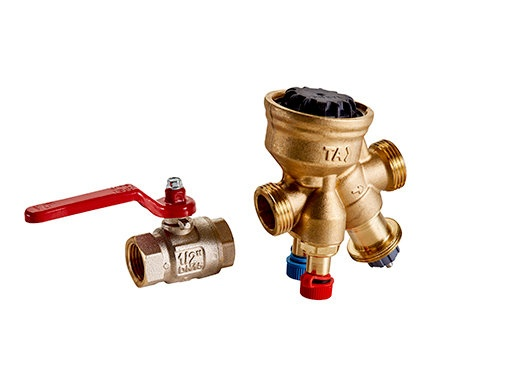 Kleppenset - Waterzijdige regeling - Regelingen - Producten - Frico