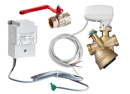 Modulerende kleppensets - Waterzijdige regeling - Regelingen - Producten - Frico