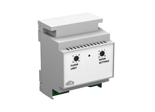 Thermostats électroniques montés sur DIN