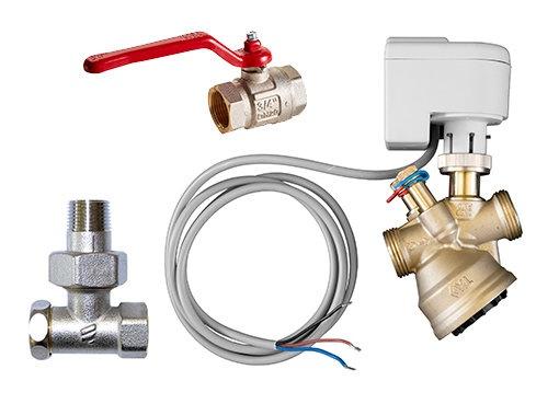 On/Off kleppensets - Waterzijdige regeling - Regelingen - Producten - Frico